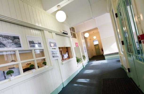 Bold Lane WA9 - WA11 office space – Hallway