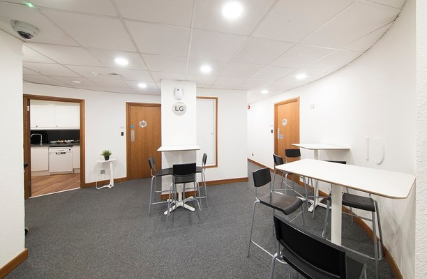 Austin Friars EC2 office space – Break Out Area