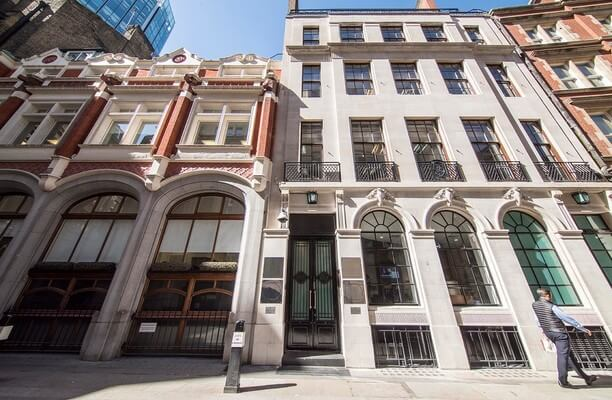 Austin Friars EC2 office space – Building External