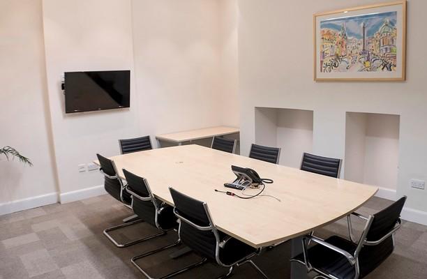 North St David's Street EH1 office space – Meeting/Boardroom.