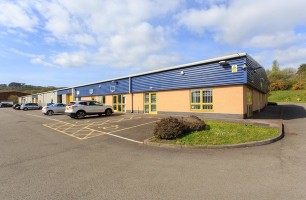 Western Industrial Estate CF83 office space – Building External