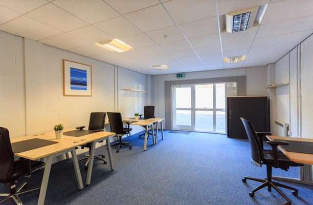 Western Industrial Estate CF83 office space – Private Office (different sizes available).