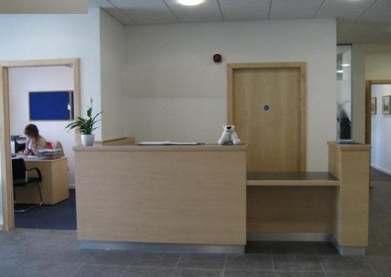 Begg Road KY1, KY2 office space – Reception