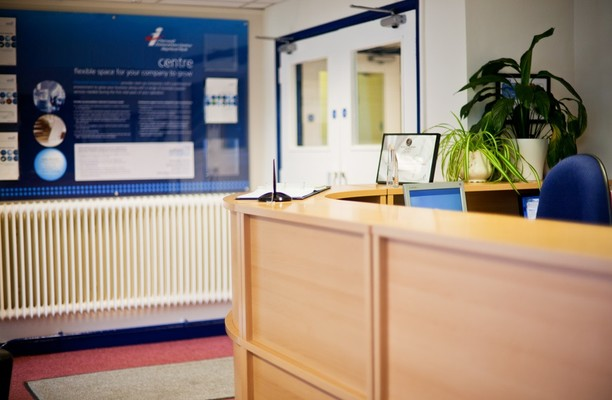 Heyford Park OX1, OX2 office space – Reception