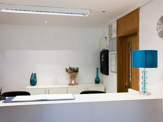 Curie Avenue OX11 office space – Reception