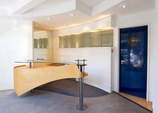 Calico Row SW2, SW11 office space – Reception