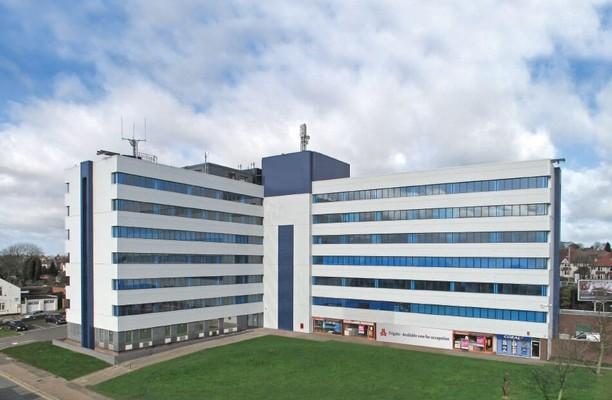 Hagley Road West B1 office space – Building External