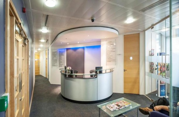 Bressenden Place SW1 office space – Reception