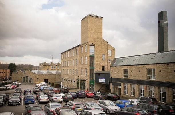 Albion Road BD1 office space – Building External
