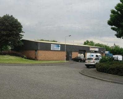Barrowfield Street ML5 office space – Building External