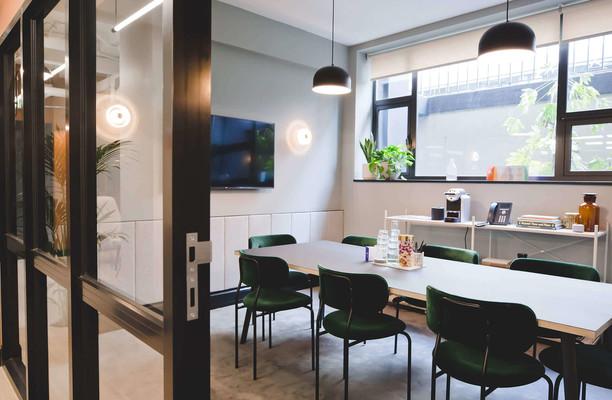 Kirby Street EC1 office space – Meeting/Boardroom.