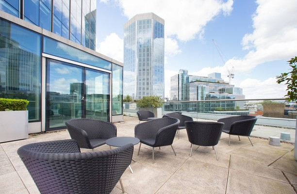 Old Broad Street EC2 office space – Outdoor Area