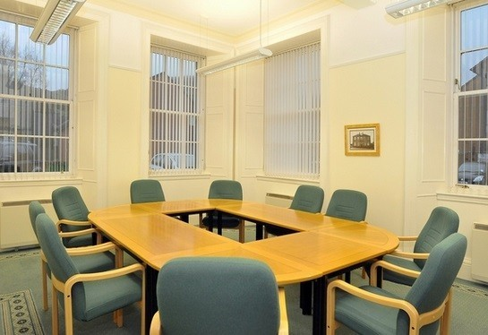 Elmbank Mill FK11 office space – Meeting/Boardroom.