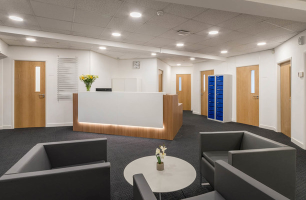 Oakdale Road YO1 office space – Reception
