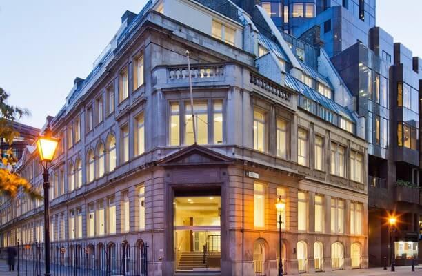 Throgmorton Street EC2 office space – Building External
