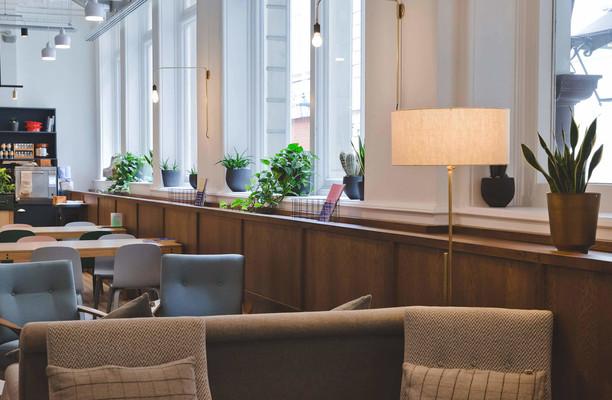 Throgmorton Street EC2 office space – Break Out Area