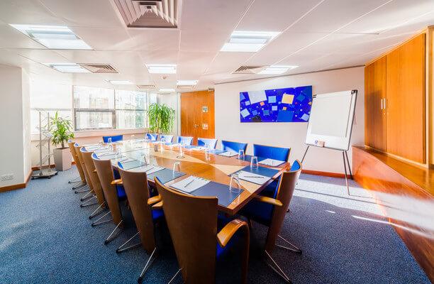 Garrett Field WA1 office space – Meeting/Boardroom.