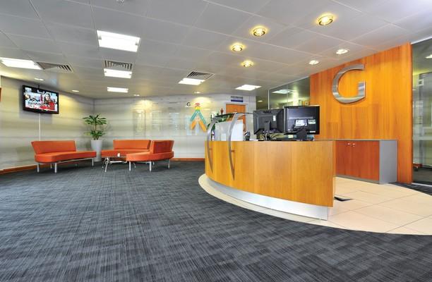 Garrett Field WA1 office space – Reception