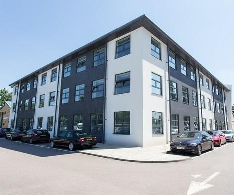 Bessemer Drive SG13 office space – Building External