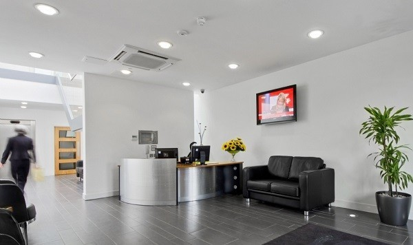 South Row MK1, MK17, MK19 office space – Reception