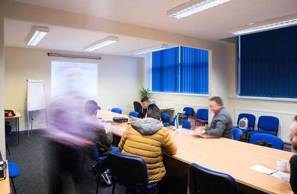 Kings Road B4 office space – Meeting/Boardroom.