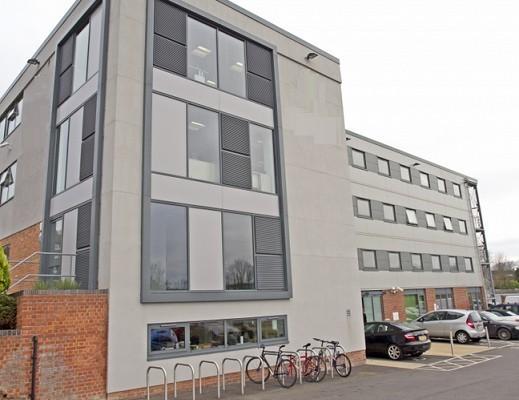 Winnall Valley Road SO22, SO23 office space – Building External