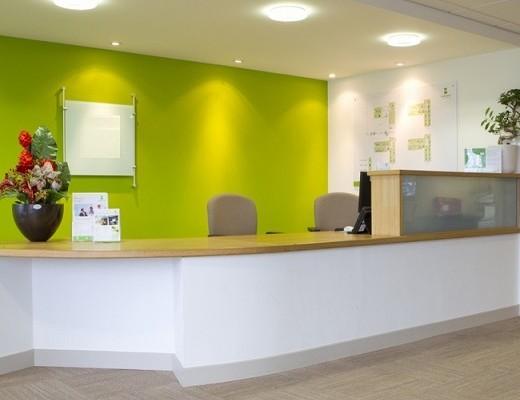 Winnall Valley Road SO22, SO23 office space – Reception