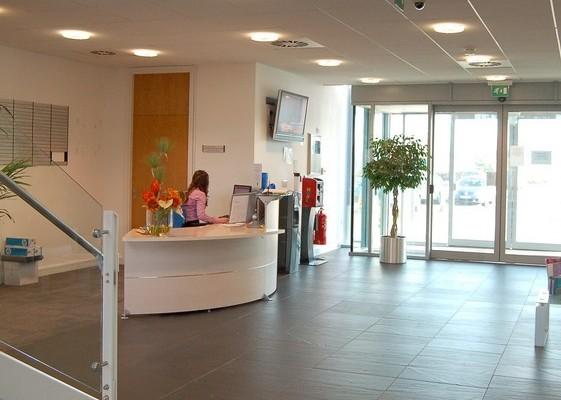 Brunel Way DA1, DA2 office space – Reception
