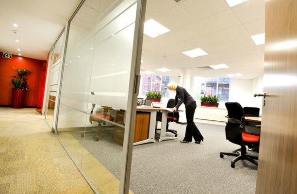 Sovereign Street office space – Private Office (different sizes available).