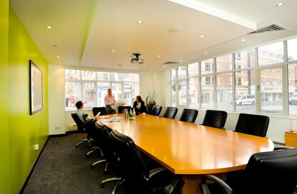 Sovereign Street office space – Meeting/Boardroom.