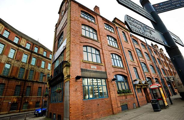 Sovereign Street LS1 office space – Building External