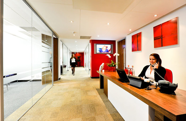 Sovereign Street LS1 office space – Reception
