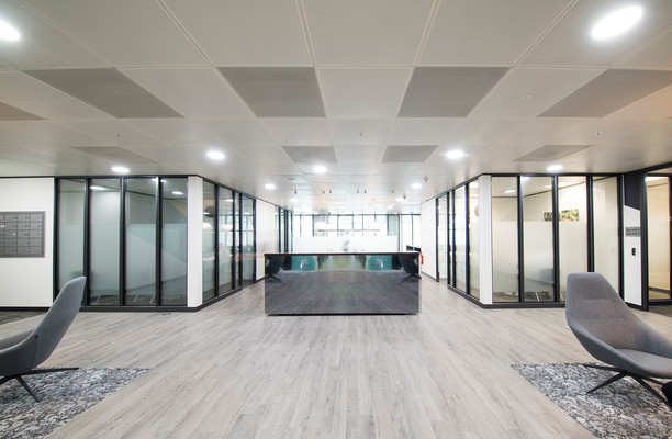 Kingdom Street W2 office space – Reception