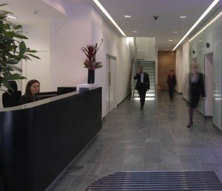 Spring Gardens M2 office space – Reception