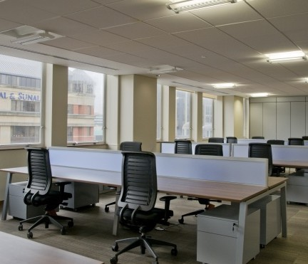 Spring Gardens M2 office space – Private Office (different sizes available).