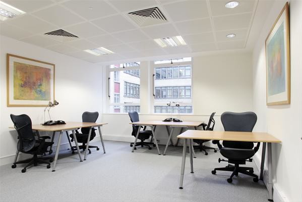 Jermyn Street W1 office space – Private Office (different sizes available).