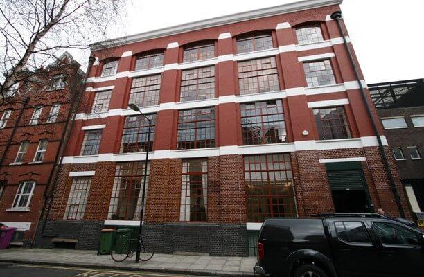East Tenter Street E1, EC3 office space – Building External