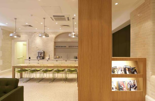 Stratton Street W1 office space – Kitchen