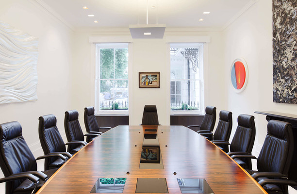 Manchester Square NW1 office space – Meeting/Boardroom.
