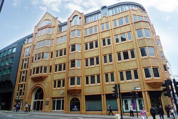 Fetter Lane WC2A office space – Building External