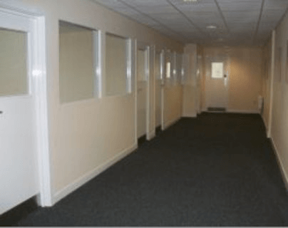 Queens Road NG1 office space – Hallway