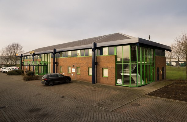 High Force Road TS1 office space – Building External