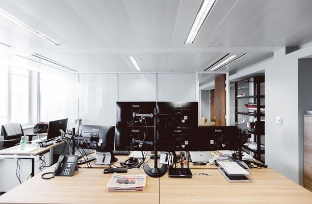 Knightsbridge Green SW1, SW3, SW7 office space – Reception