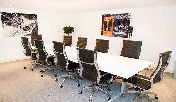 Queens Street W1 office space – Meeting/Boardroom.