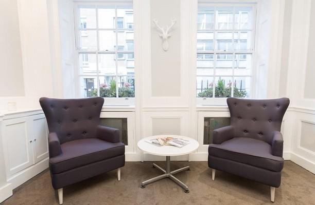 Queens Street W1 office space – Break Out Area