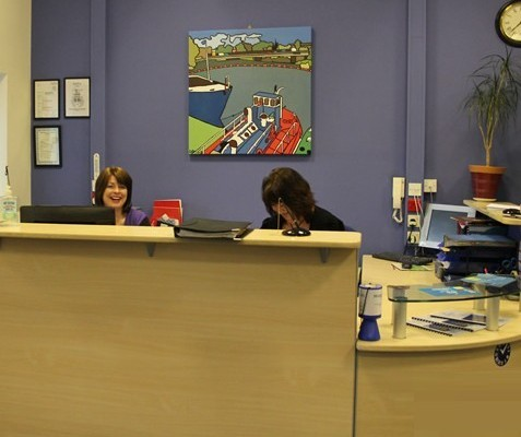 Fishergate YO1 office space – Reception
