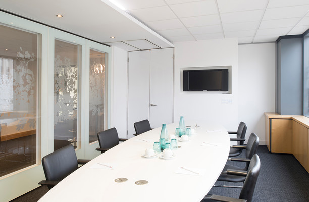 Broad Street B1 office space – Meeting/Boardroom.