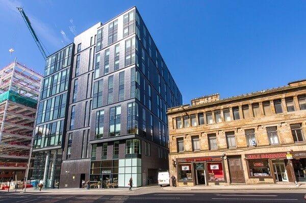 West Regent Street office space – Building External