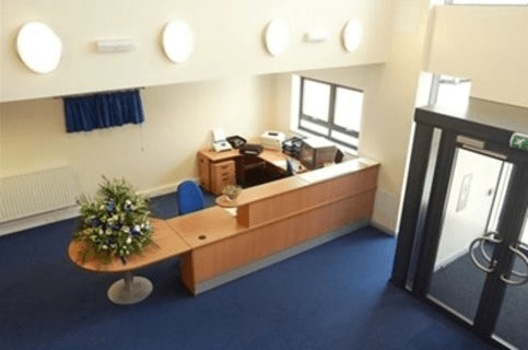 Harlow Business Park CM17 office space – Reception
