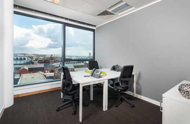 Bark Street BL1 office space – Private Office (different sizes available).